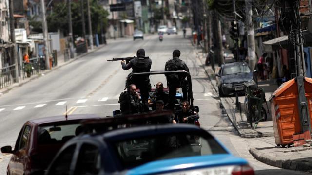Confronto com a PM no Morro da Mangueira deixa três mortos e um ferido