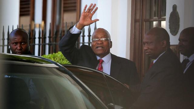 Zuma proporá condições para sair, diz jornal