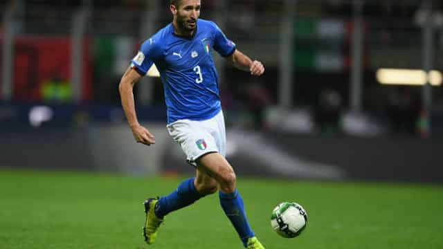 Antes de decisão, Chiellini alfineta Inglaterra: 'Disputaram 6 jogos em casa'
