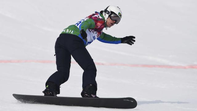 Com dores após queda, snowboarder brasileira abandona Jogos de Inverno