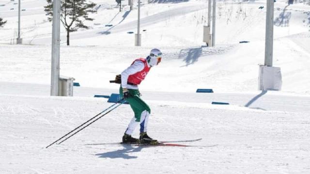 Esquiador brasileiro saiu da favela para competir na Olimpíada