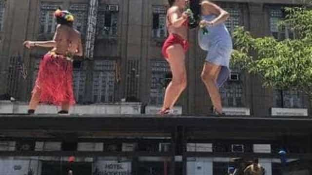 Bruna Linzmeyer recebe chuva de críticas por dançar em ponto de ônibus