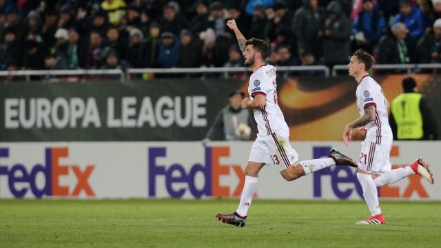 Milan vence 'brasileiro' Ludogorets e Dortmund bate Atalanta