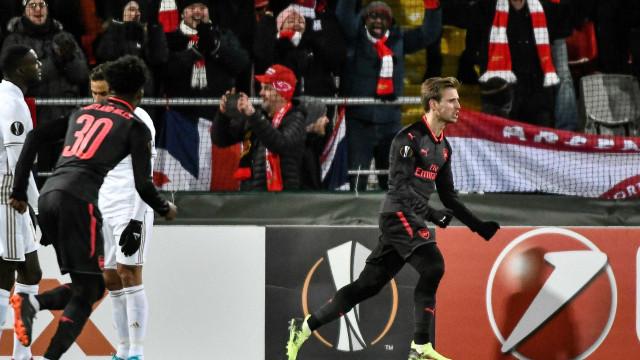 Arsenal vence fácil na Suécia e encaminha vaga às oitavas