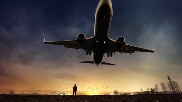 Tráfego de passageiros em voos domésticos volta a crescer em 2017