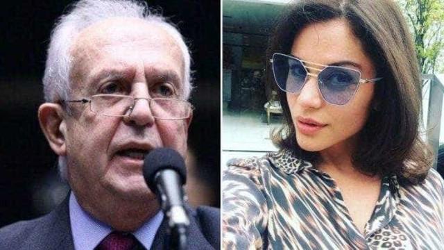 Ex-BBB viaja para Portugal com suposto namorado, deputado de 75 anos
