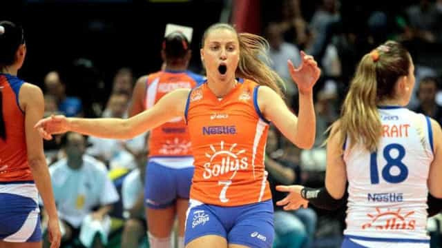 Atleta do Minas pretende seguir competindo mesmo grávida de 6 meses