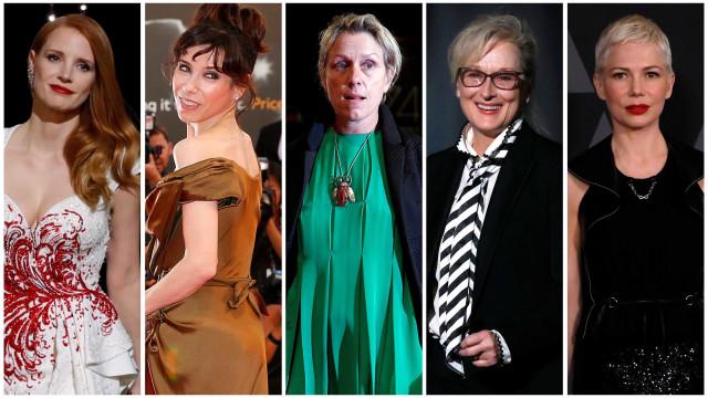 Conheça as atrizes à 'caça' do Oscar de 2018