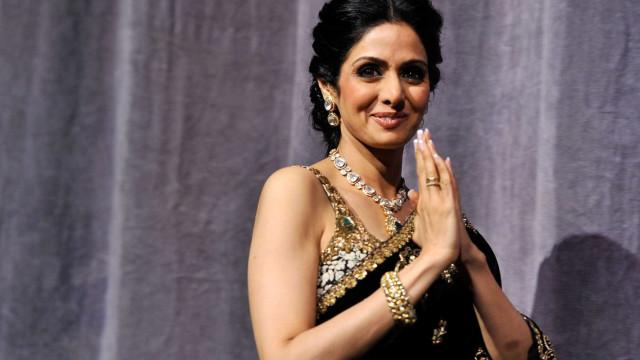Estrela de Bollywood, atriz Sridevi Kapoor morre aos 54 anos