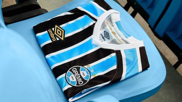 Grêmio anuncia novo uniforme; clube joga hoje pela Libertadores