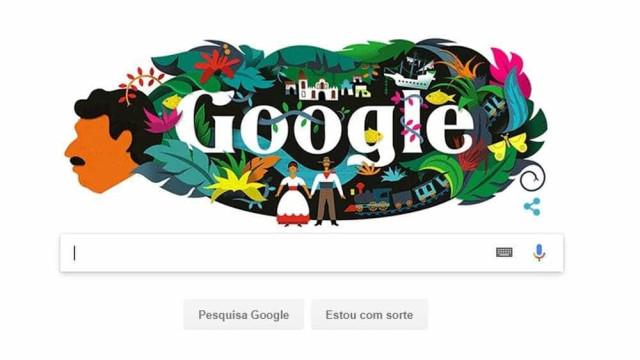 Gabriel García Márquez ganha doodle nesta terça-feira