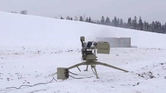 Rússia testa seus robôs de combate