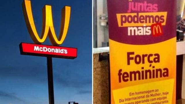 Homenagem do McDonald's ao Dia da Mulher gera polêmica no Brasil