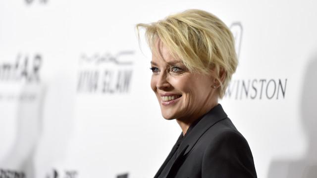 Sharon Stone revela o que salvou a família após morte trágica do afilhado