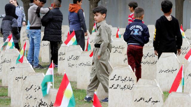 30 anos: curdos lembram 5.000 mortos em ataque de gás contra civis