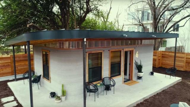 Casas impressas em 3D ficam prontas em 48 horas