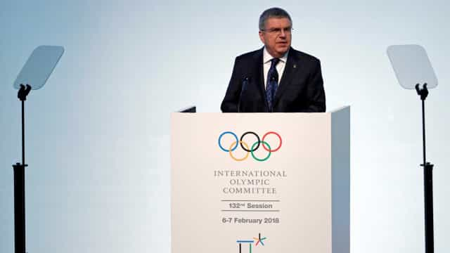 Thomas Bach diz que 85% de atletas e oficiais da Vila Olímpica estarão vacinados