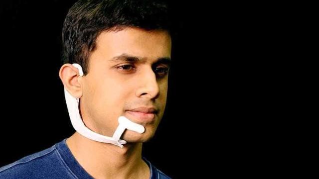 Novo gadget te permite falar sem dizer uma palavra; entenda