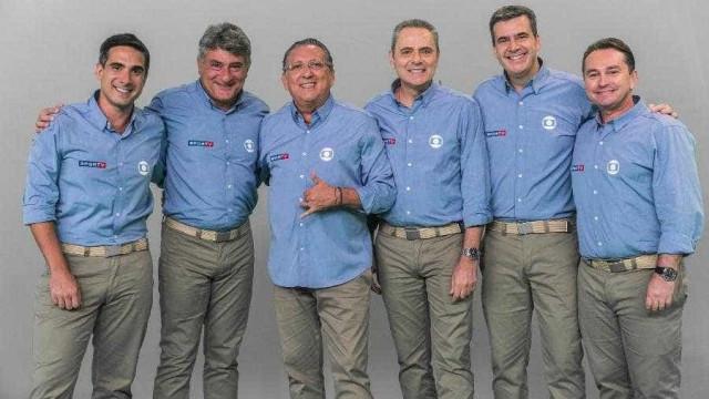 TV Globo define 'time' de narradores para a Copa da Rússia