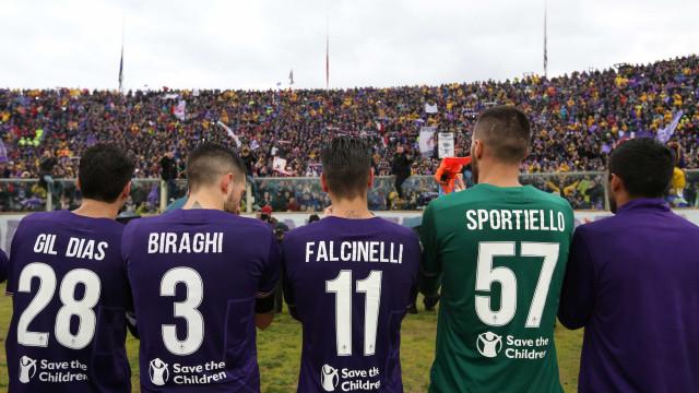 Fiorentina venceu cinco jogos seguidos após morte de capitão