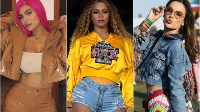 Os figurinos dos famosos na primeira semana do Coachella 2018