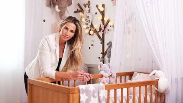 Mariana Weickert mostra o quarto da filha de dois meses