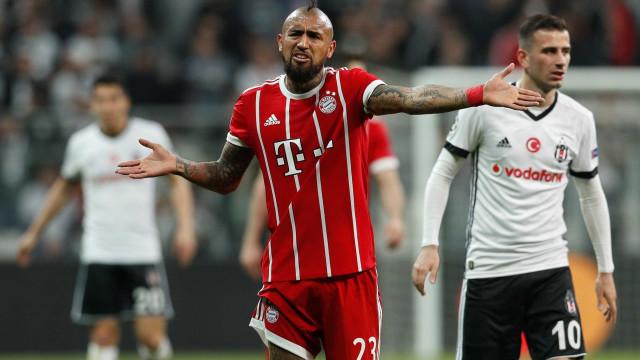 Vidal opera com sucesso, mas não joga mais na atual temporada