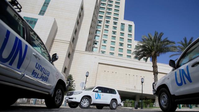 Funcionários da ONU são atingidos durante tiroteio na Síria