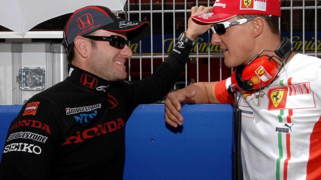 Barrichello diz que Schumacher tinha vantagens contratuais na Ferrari