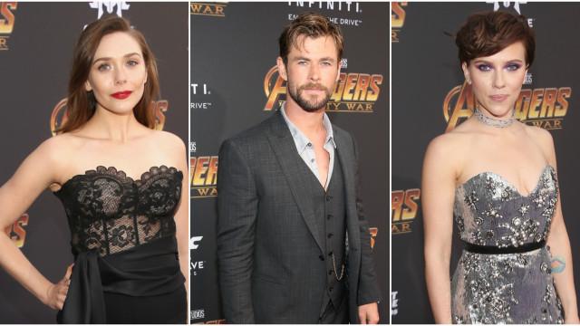 'Vingadores: Guerra Infinita': saiba quem foi à pré-estreia do filme