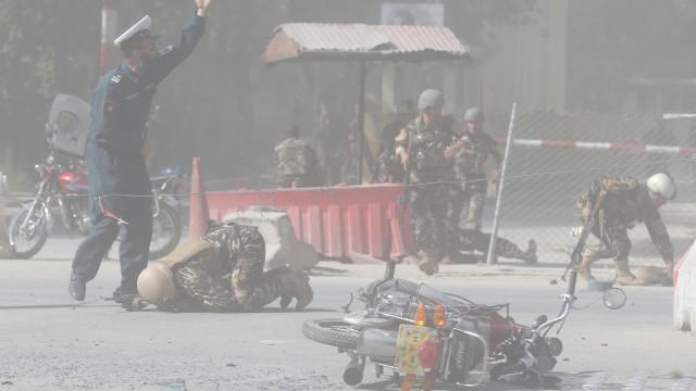 Ataques ao Ministério do Interior afegão deixam oito mortos
