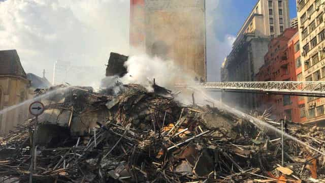 Entidades preparam atos de protesto e de auxílio a vítimas de prédio