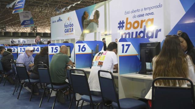 No Feirão, Caixa diz ter capital para aumentar carteira de crédito