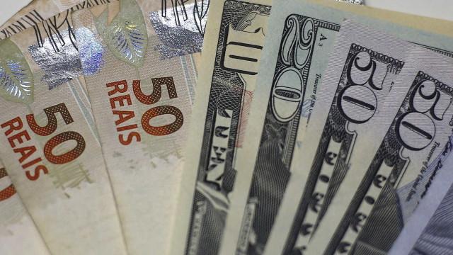 Focus: projeção de câmbio 2020 passa de R$ 5,28 para R$ 5,40
