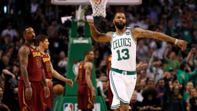 Celtics atropela o Cavaliers no primeiro jogo da final do Leste da NBA