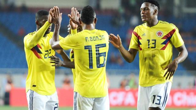 Borja vai defender a Colômbia na Copa; Cuellar fica fora de lista final