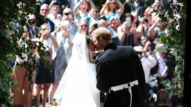 As melhores fotos do casamento do Príncipe Harry e Meghan Markle