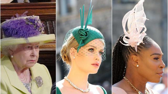 Casamento de Harry e Meghan: os chapéus que mais chamaram a atenção
