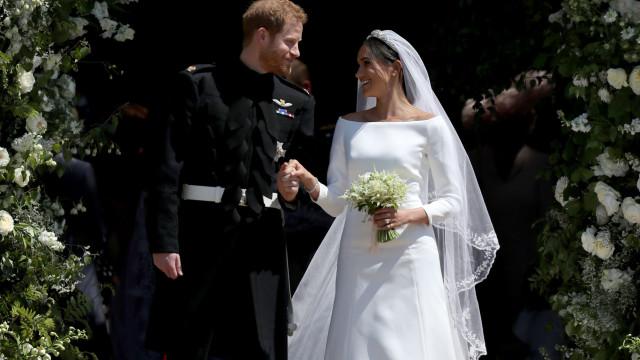 Banquete do casamento real não agradou a todos e alguém pediu pizza