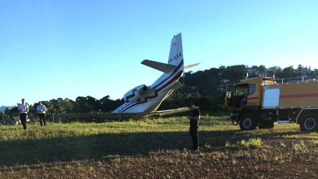 Avião com DJ Alok tem pane e sai da pista em aeroporto de Juiz de Fora