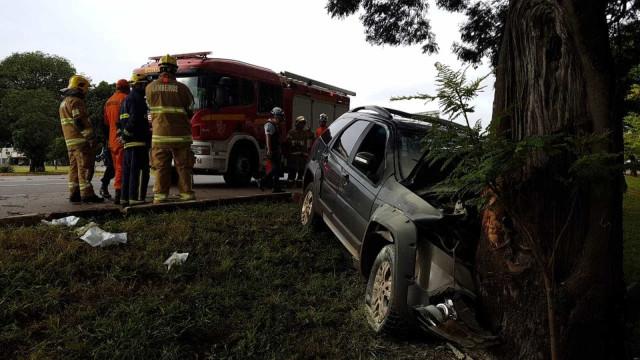 Neta e bisneta de João de Deus sofrem acidente de carro em Brasília