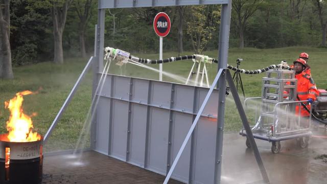 Robô ajudará a combater incêndios de uma forma mais segura