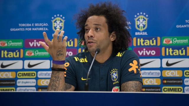 Marcelo sobre lesão de Fred: 'Foi um lance chato'