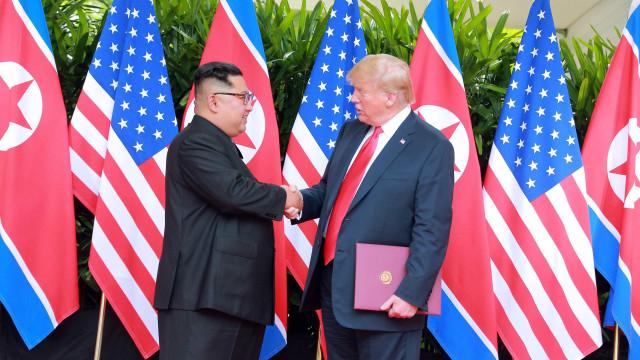 Trump confirma encontro com Kim em 27 e 28 de fevereiro