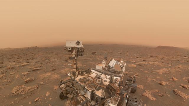 Marte tem níveis instáveis de oxigênio, revela NASA