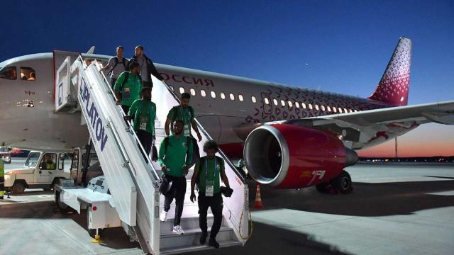 Avião da Arábia Saudita tem pane e pega fogo a caminho de Rostov