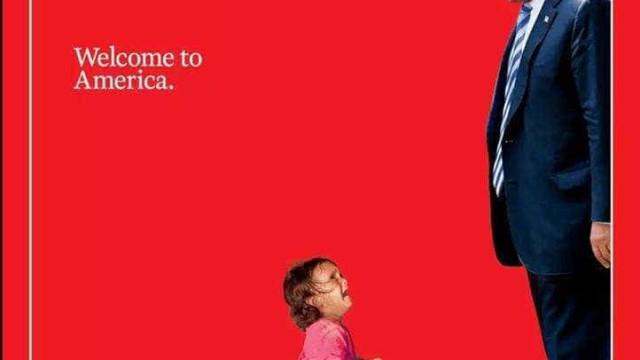 Revista Time se desculpa por capa com foto de criança imigrante