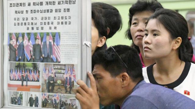 Coreia do Norte reduz distribuição de comida para a população
