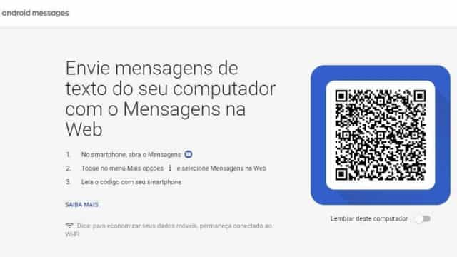 Aprenda a configurar seu pc para as funções do Android Messages
