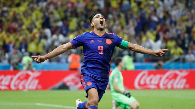Colômbia faz 3 a 0 e elimina a Polônia da Copa